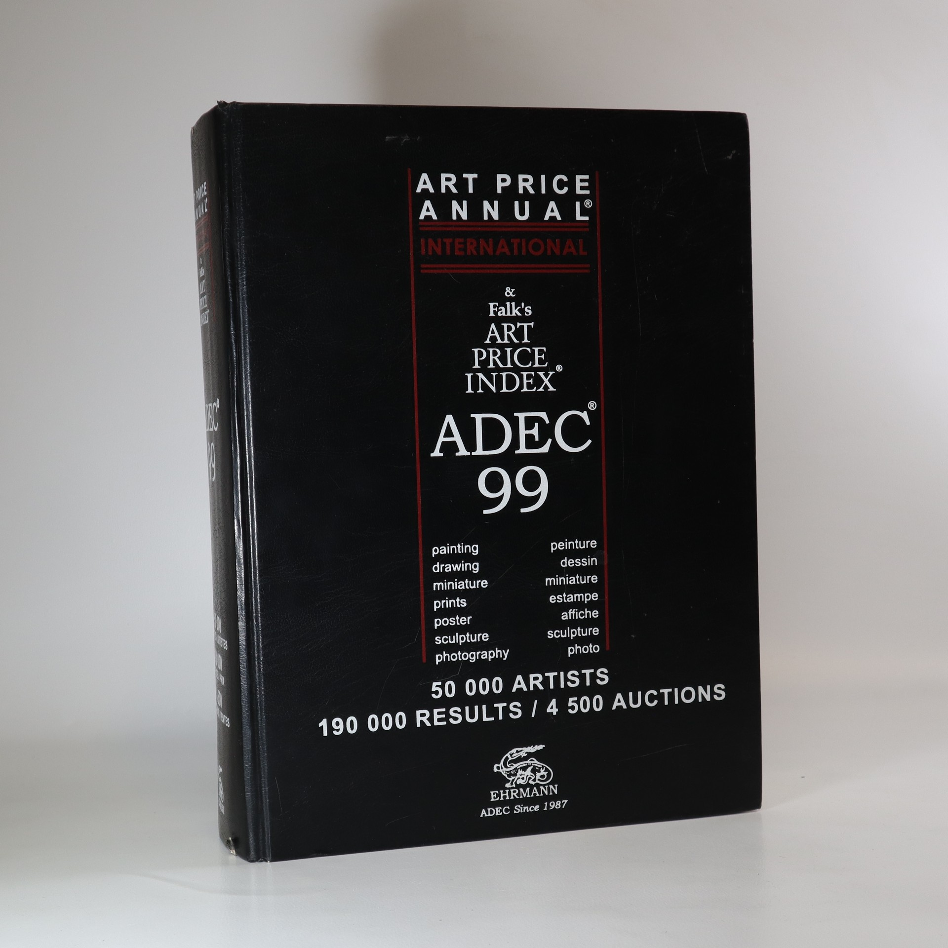 antikvární kniha ADEC 99. Art Price Annual International & Falk's Art Price Index, 1999