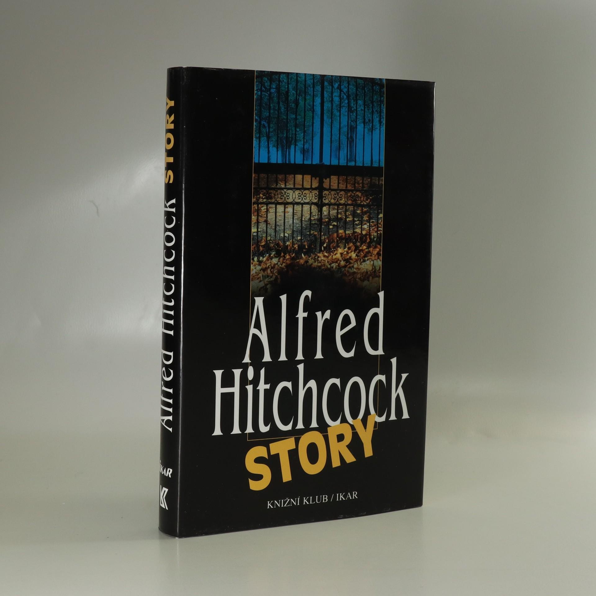 antikvární kniha Alfred Hitchcock story, 2000