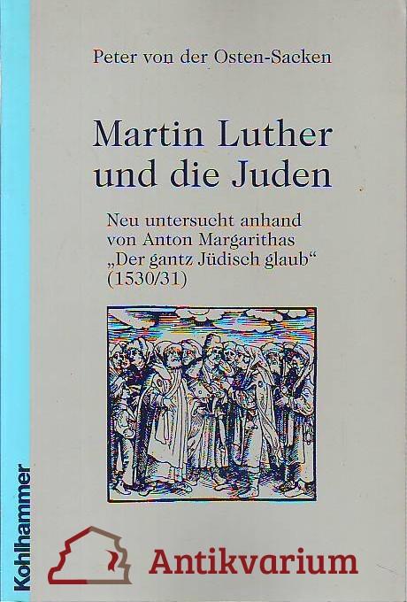 martin luther juden