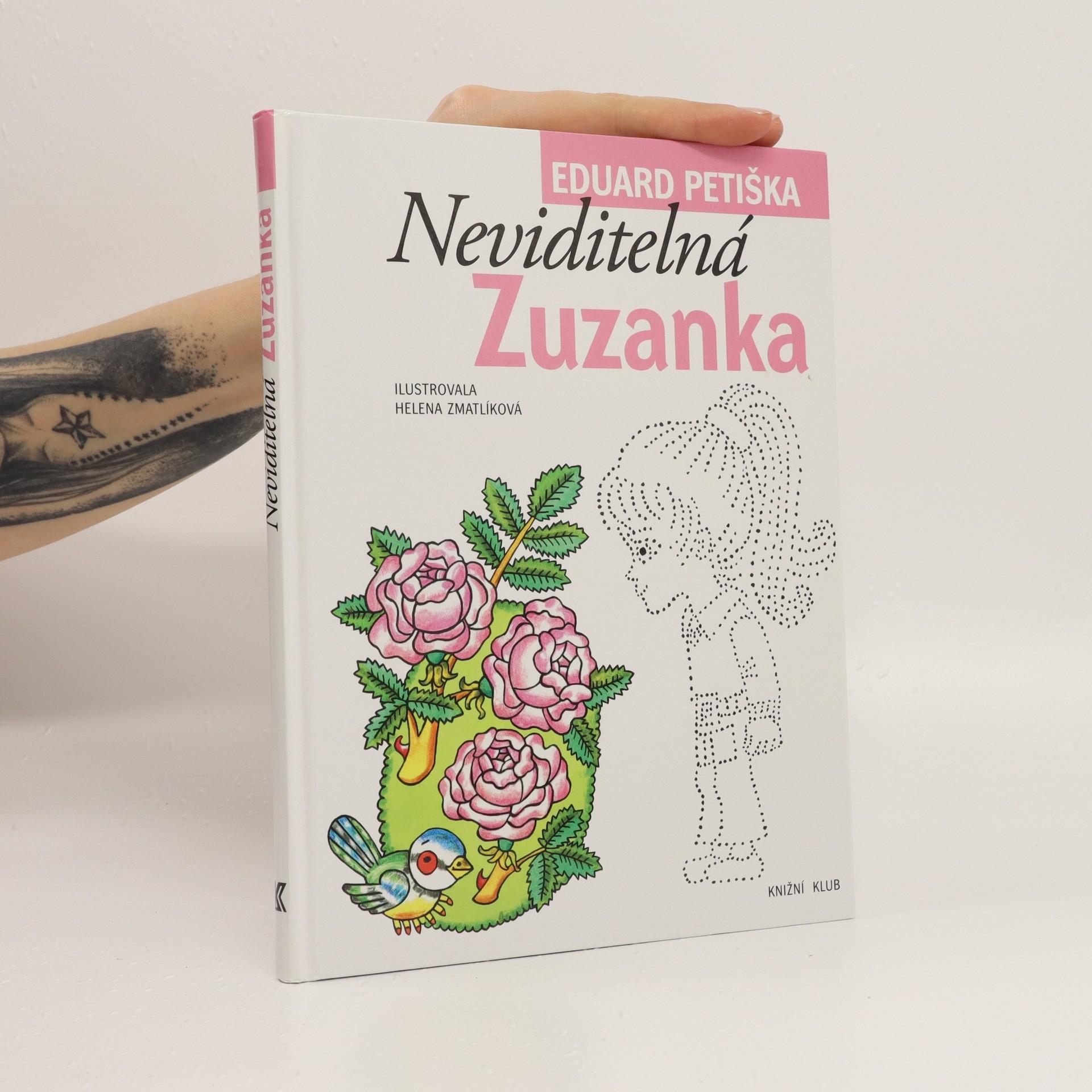 antikvární kniha Neviditelná Zuzanka, 2012