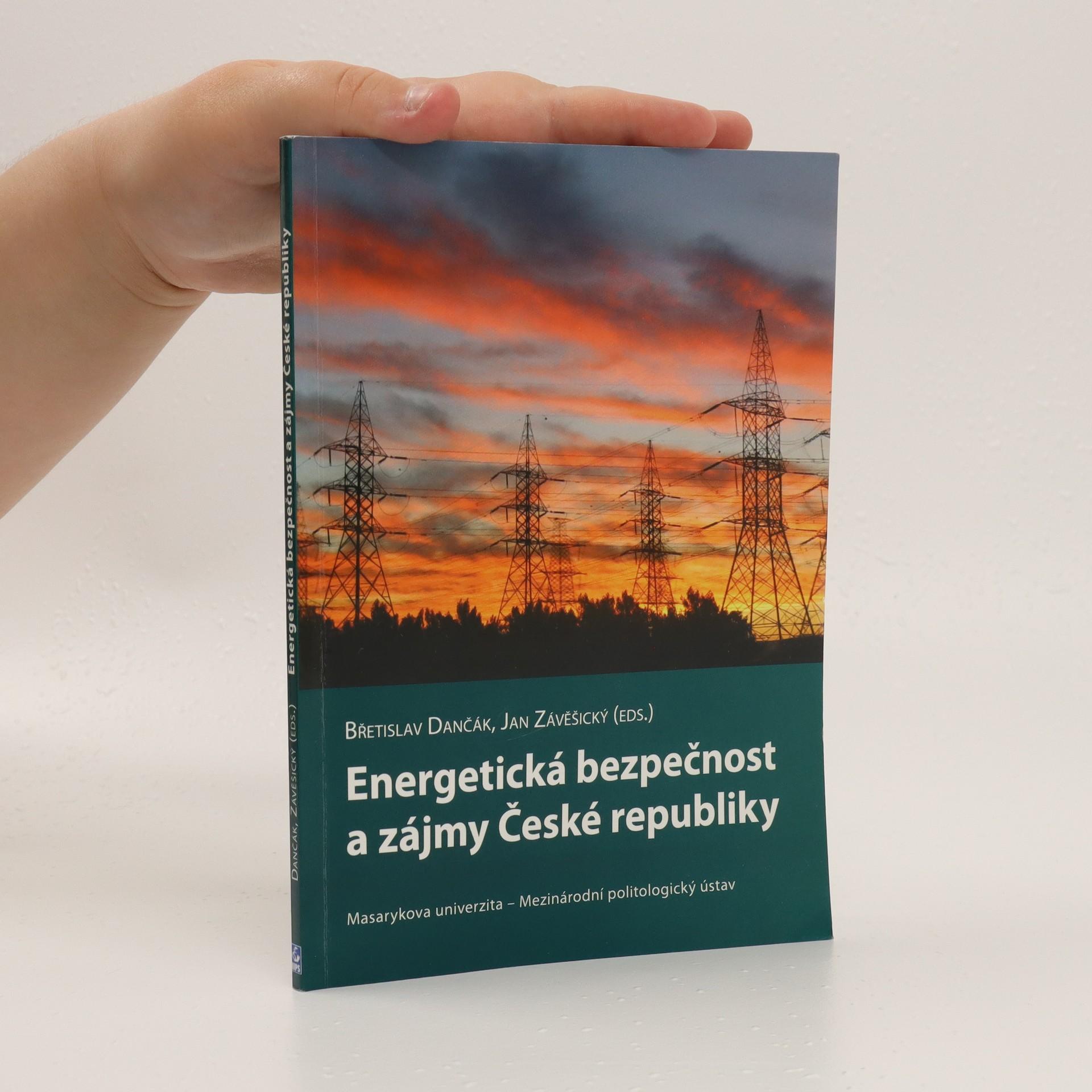 antikvární kniha Energetická bezpečnost a zájmy České republiky, 2007