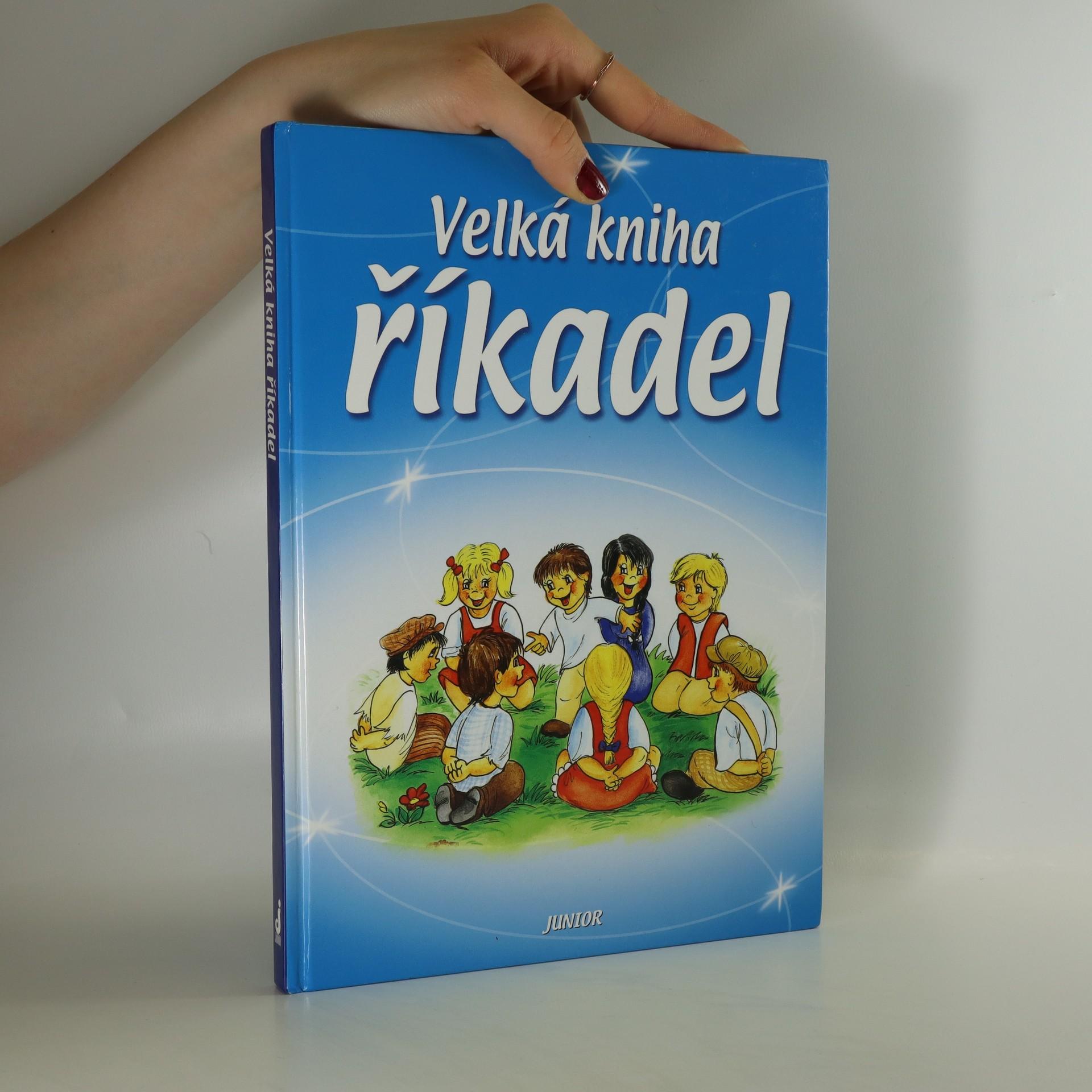 antikvární kniha Velká kniha říkadel, 2004