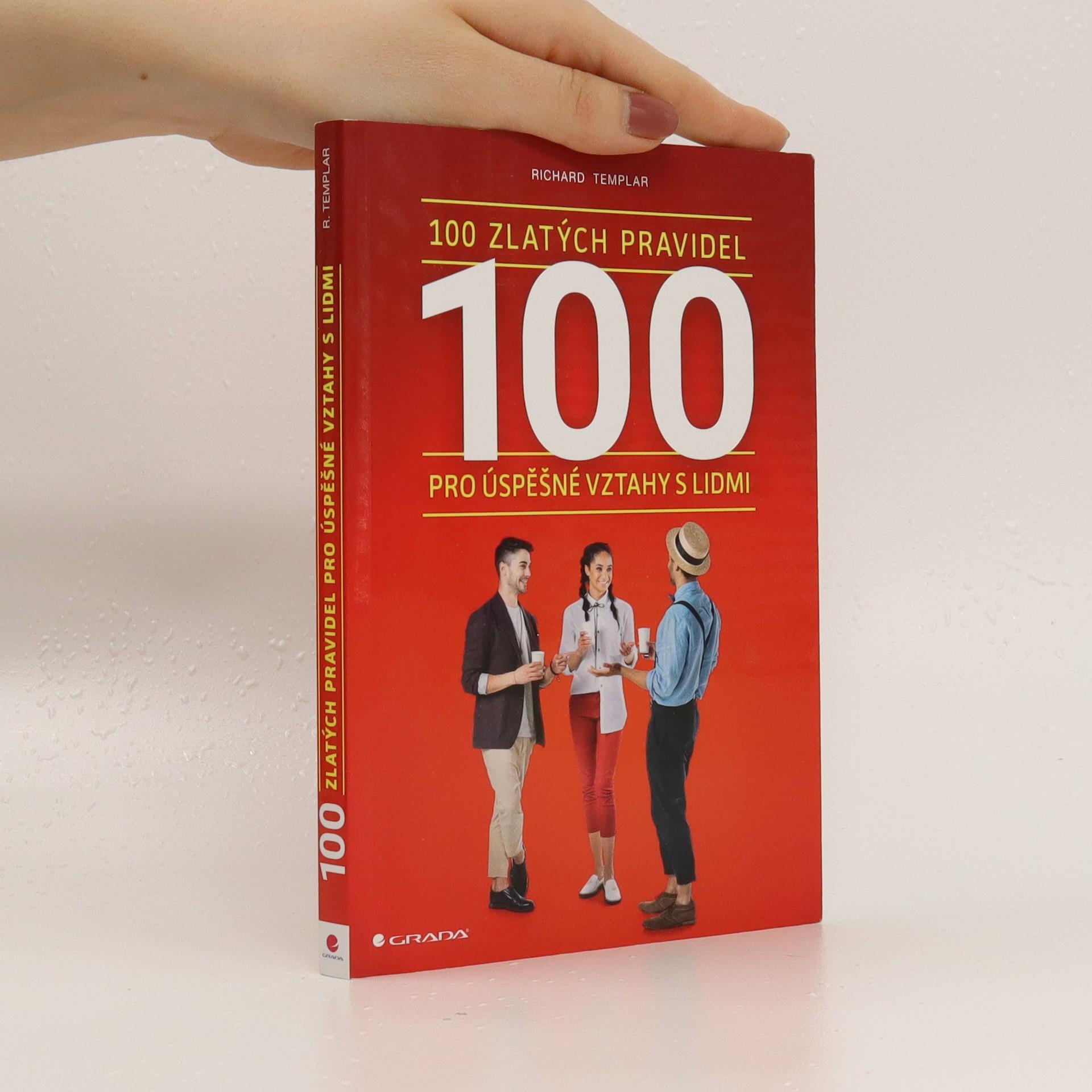antikvární kniha 100 zlatých pravidel pro úspěšné vztahy s lidmi, 2018