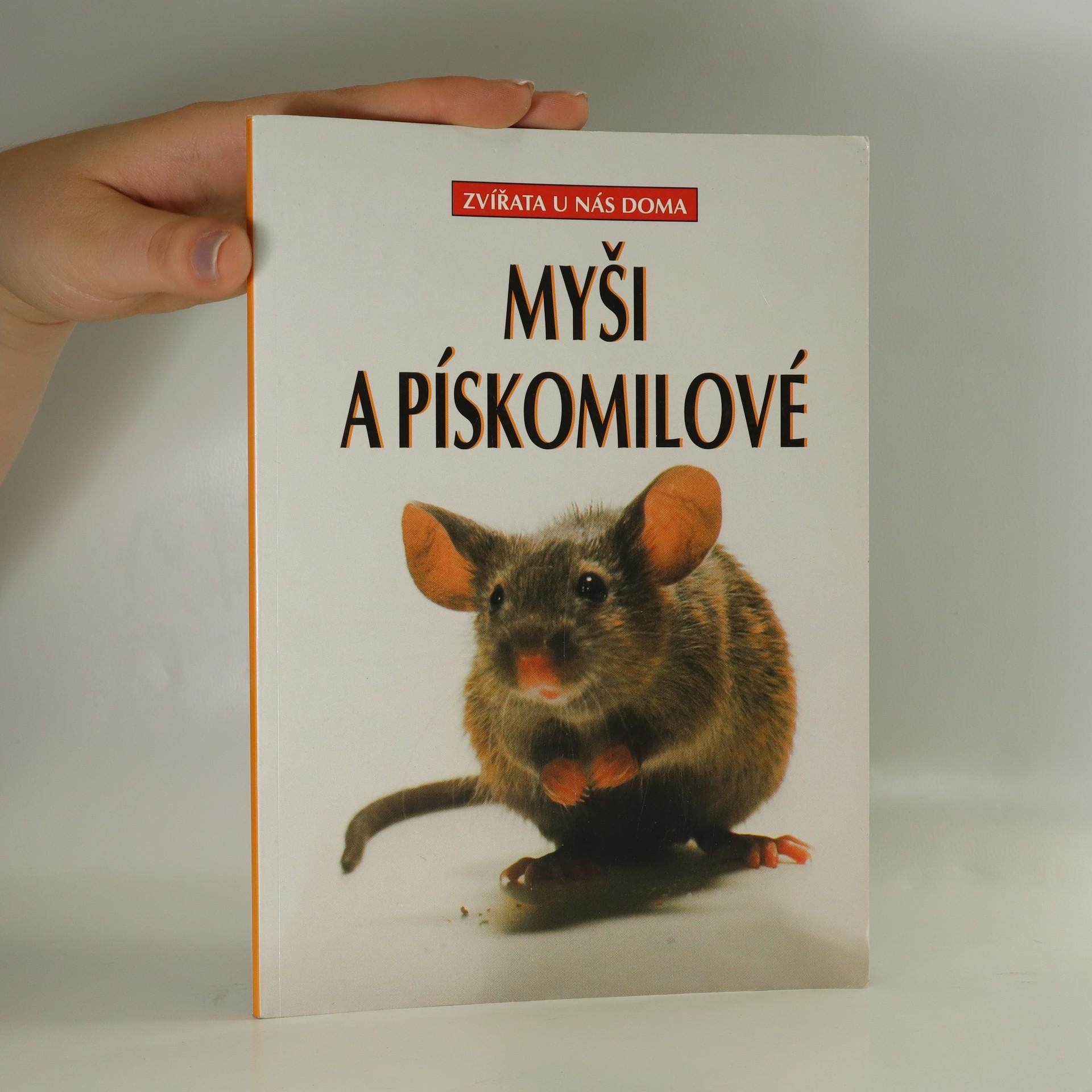 antikvární kniha Myši a pískomilové, 1999