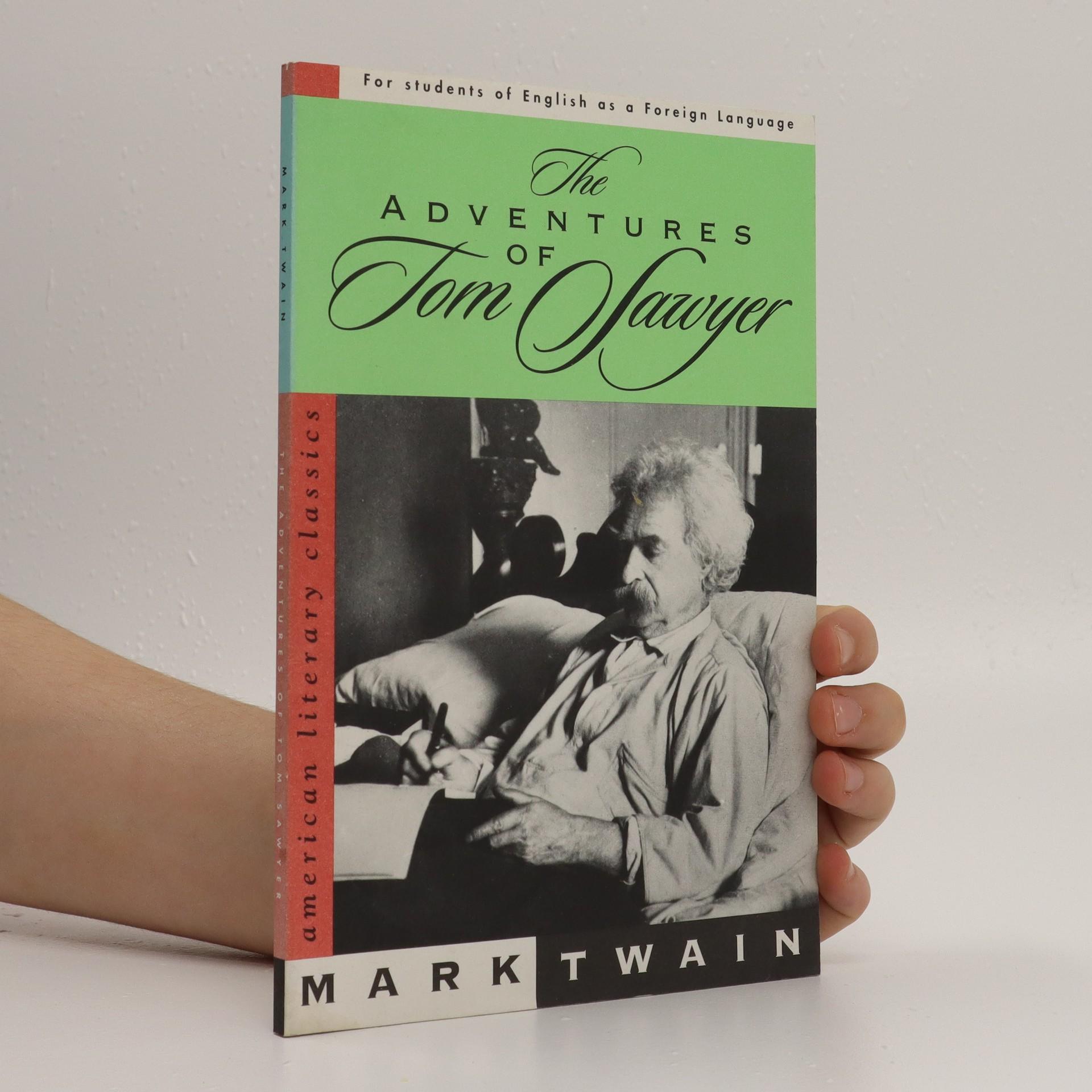 antikvární kniha The Adventures of Tom Sawyer, neuveden