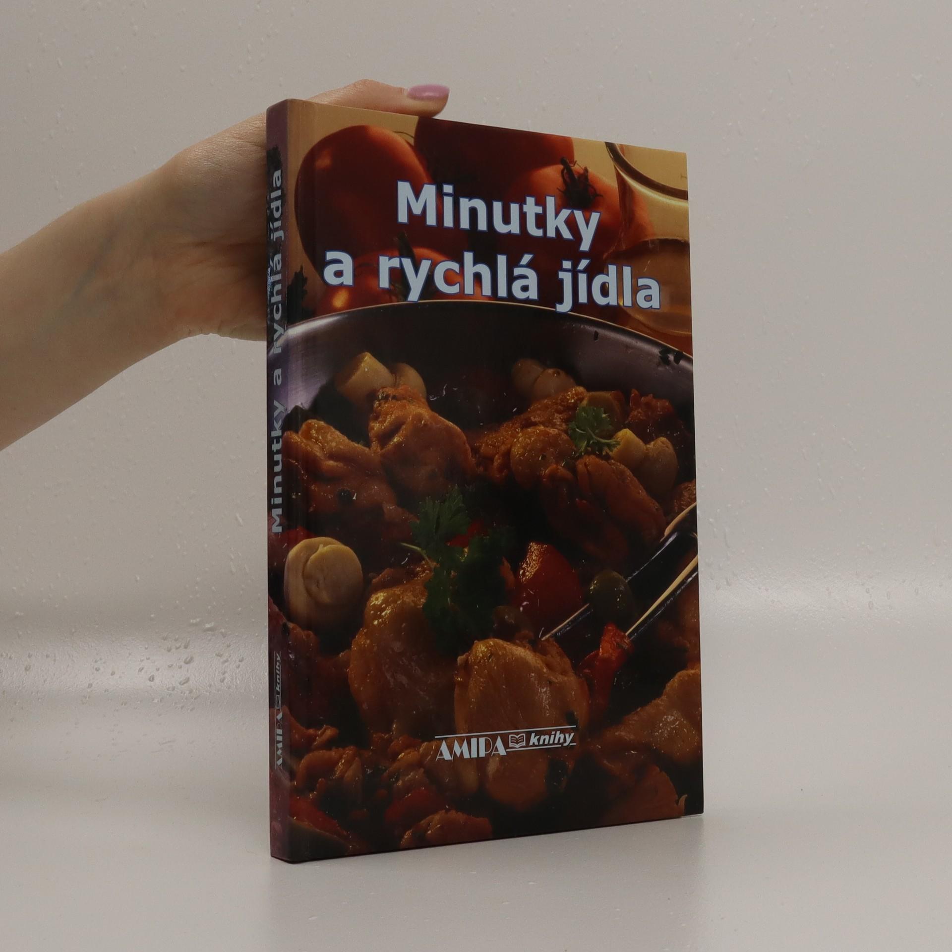 antikvární kniha Minutky a rychlá jídla, 2006