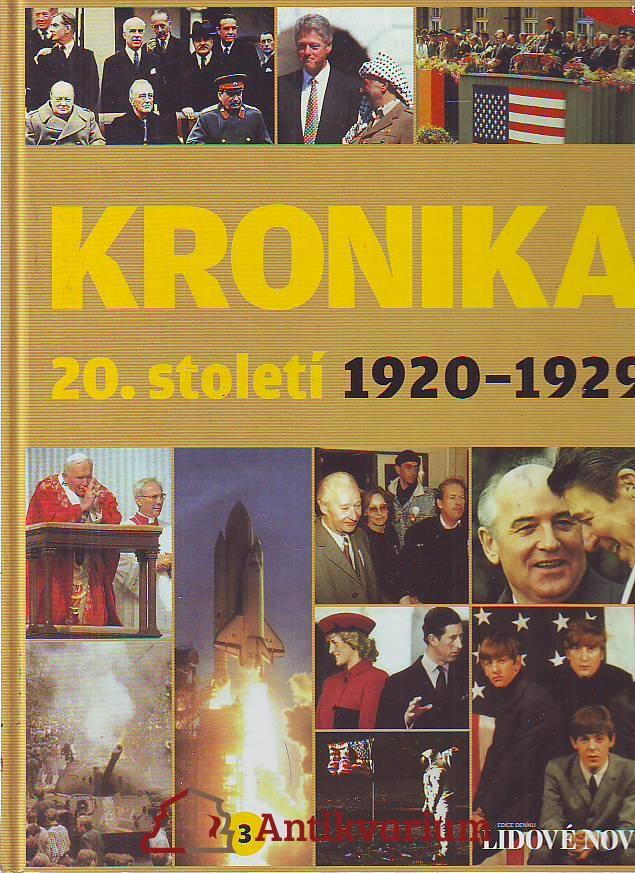 Kronika 20. století 3. 1920 - 1929