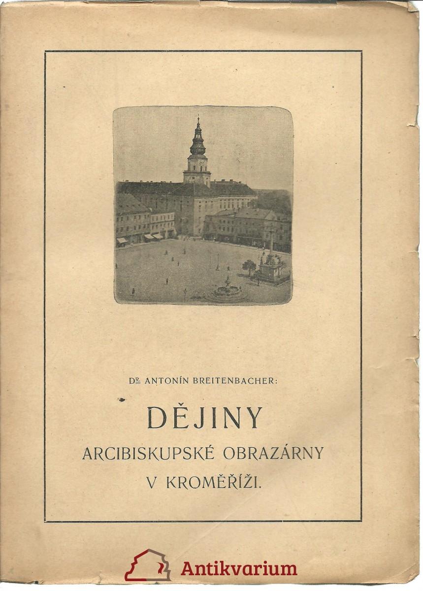 Dějiny Arcibiskupské obrazárny v Kroměříži