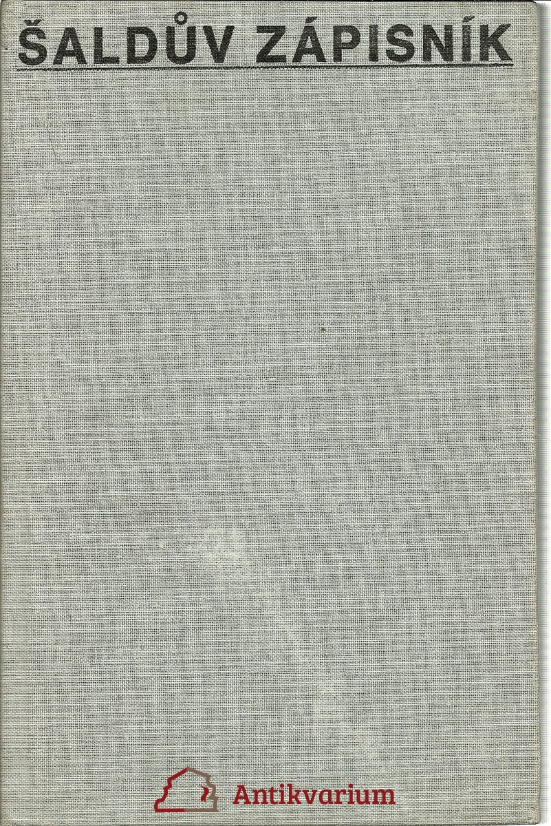 Šaldův zápisník VI. 1933 - 1934