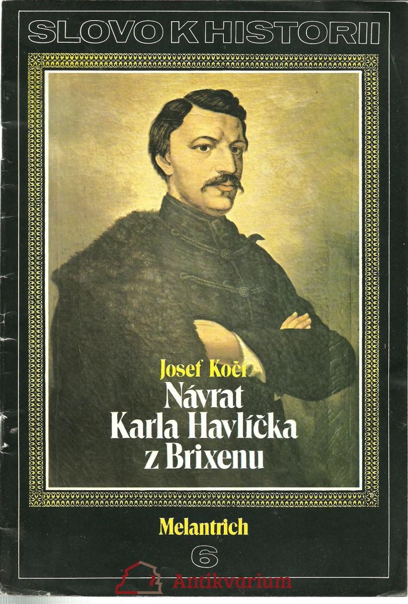Návrat Karla Havlíčka z Brixenu