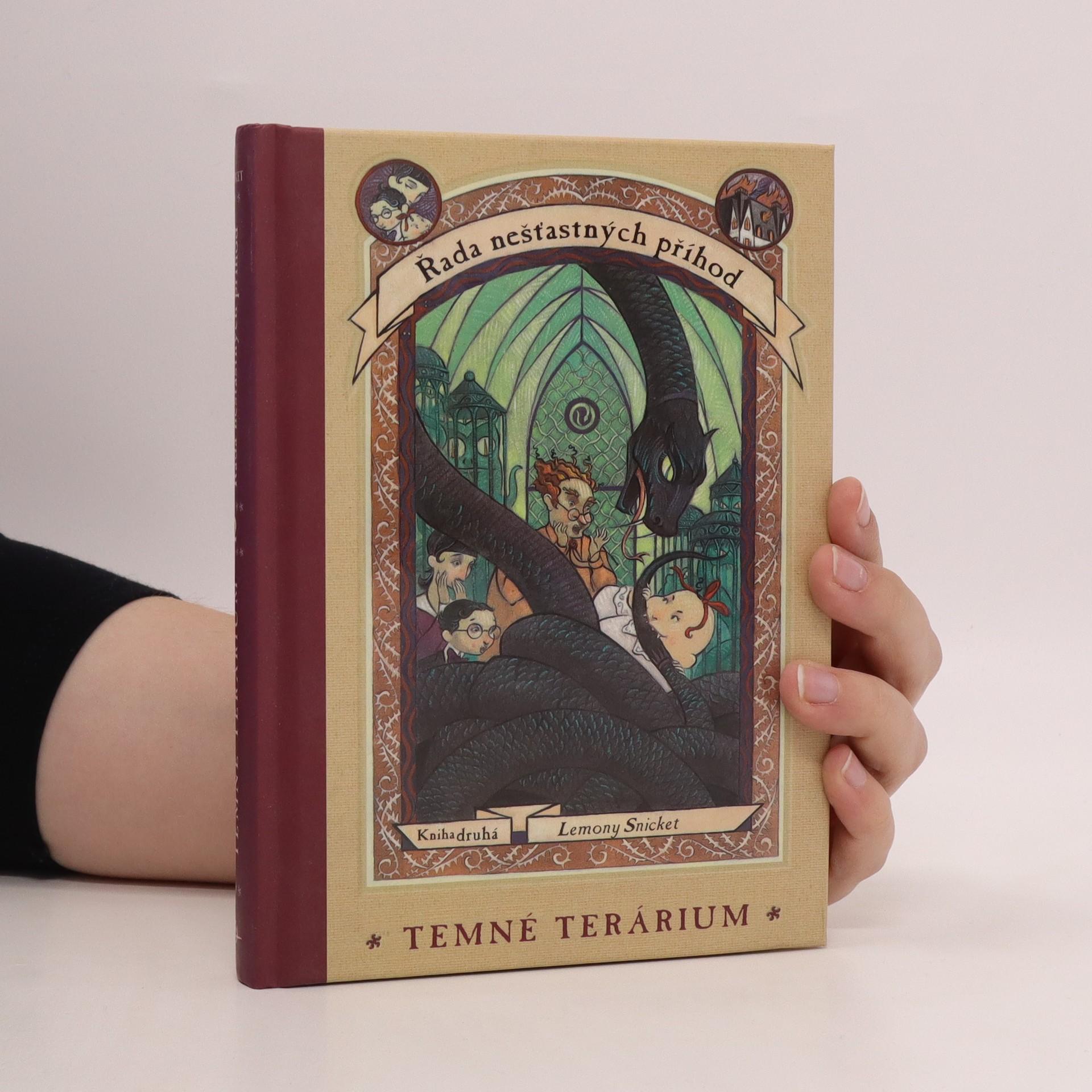 antikvární kniha Řada nešťastných příhod. Kniha druhá. Temné terárium, 2001