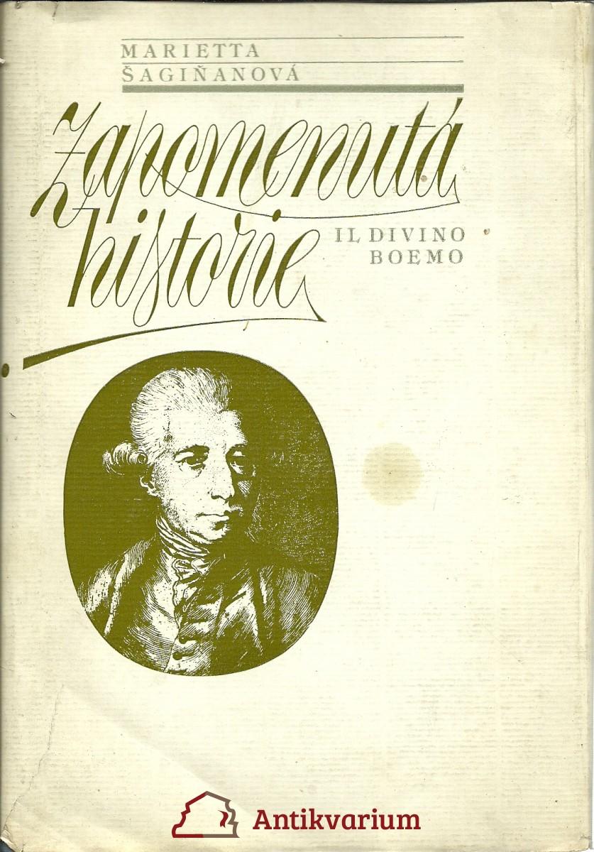 Zapomenutá historie (Il divino Boemo)