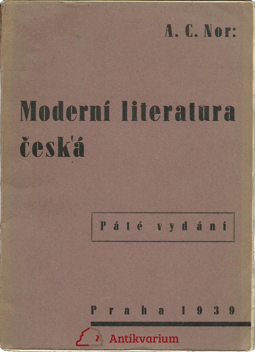Moderní literatura česká