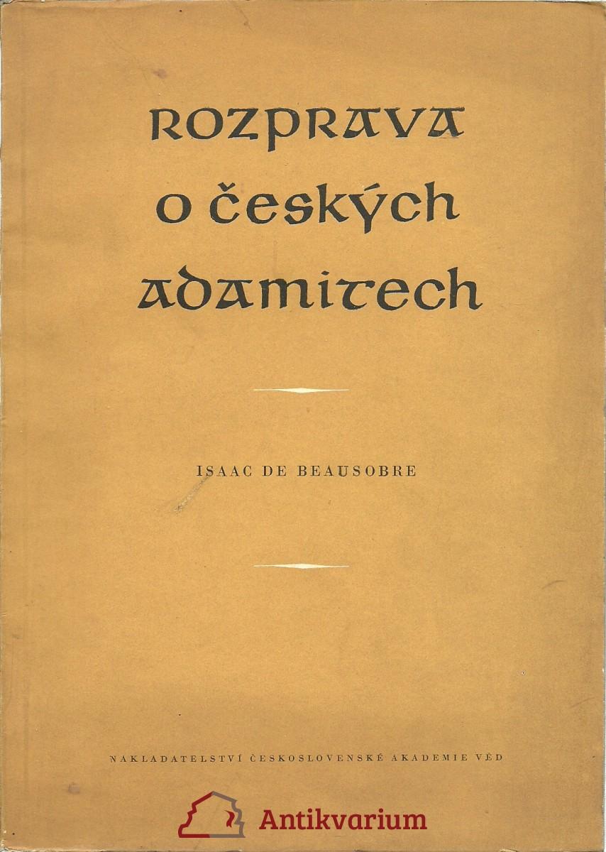 Rozprava o českých adamitech