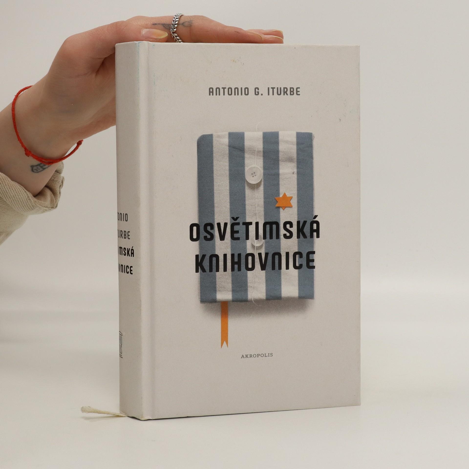 antikvární kniha Osvětimská knihovnice, 2018