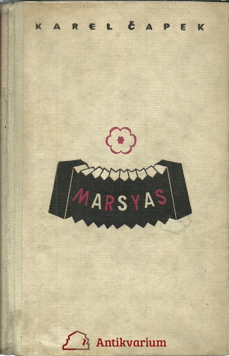 Marsyas čili Na okraj literatury (1919 - 1931)