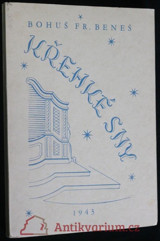 antikvární kniha Křehké sny : Lyrika, 1943