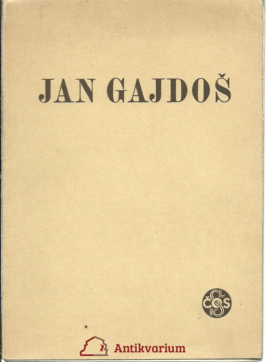 Jan Gajdoš. Sokolský závodník