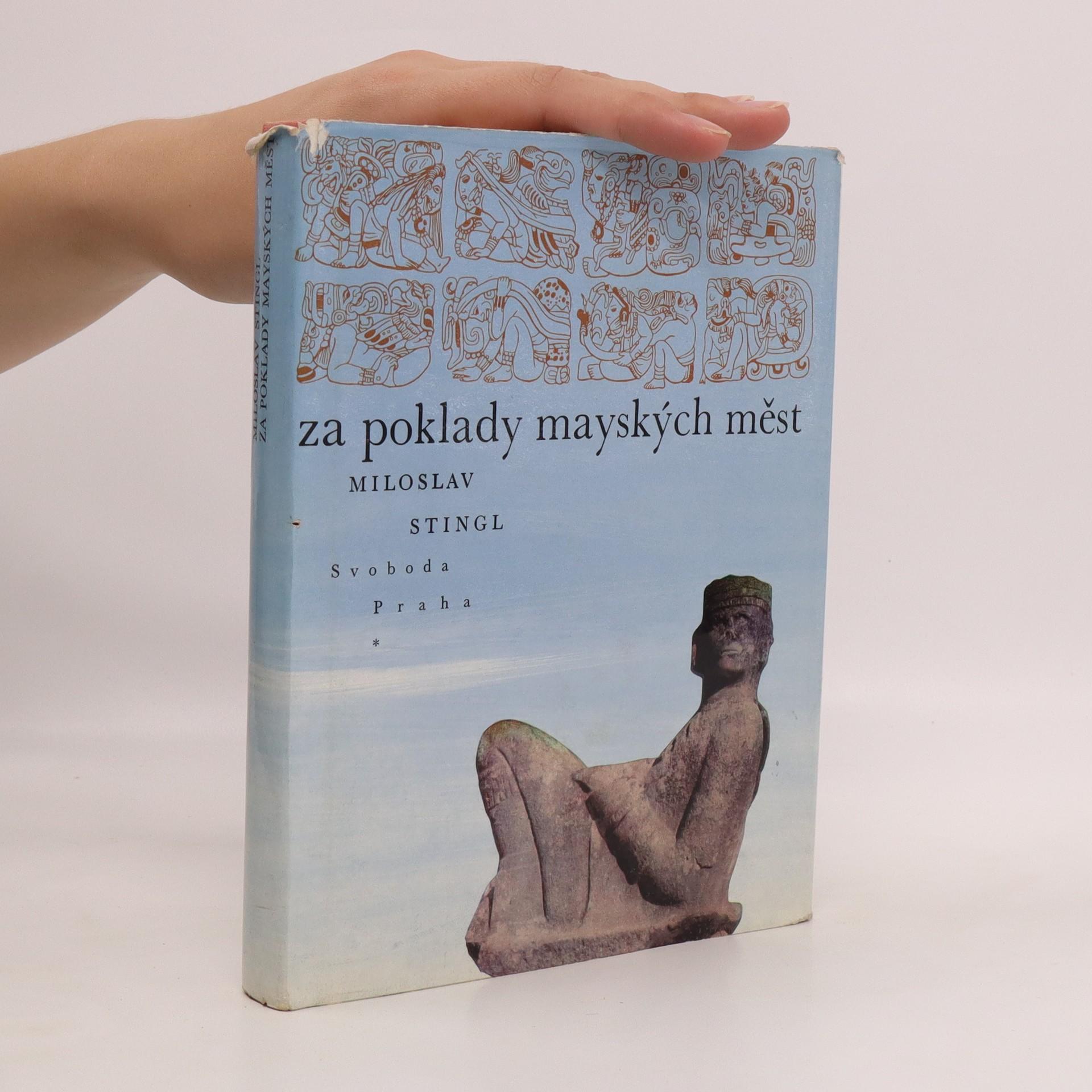 antikvární kniha Za poklady mayských měst, 1969