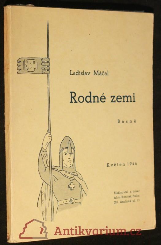 antikvární kniha Rodné zemi : Básně, 1946