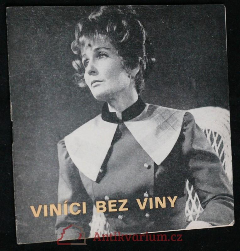 antikvární kniha Viníci bez viny, 1972