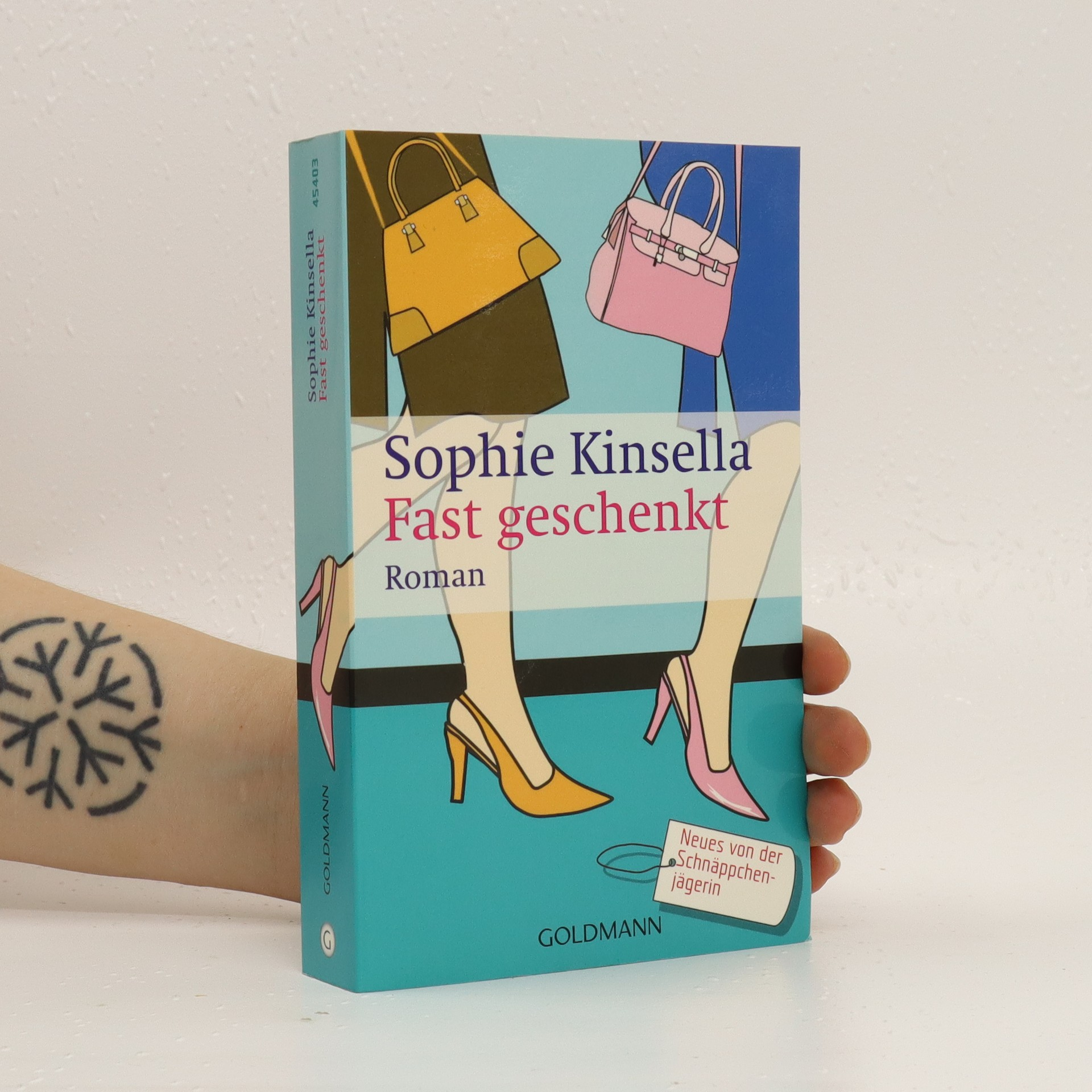 antikvární kniha Fast geschenkt, 2003