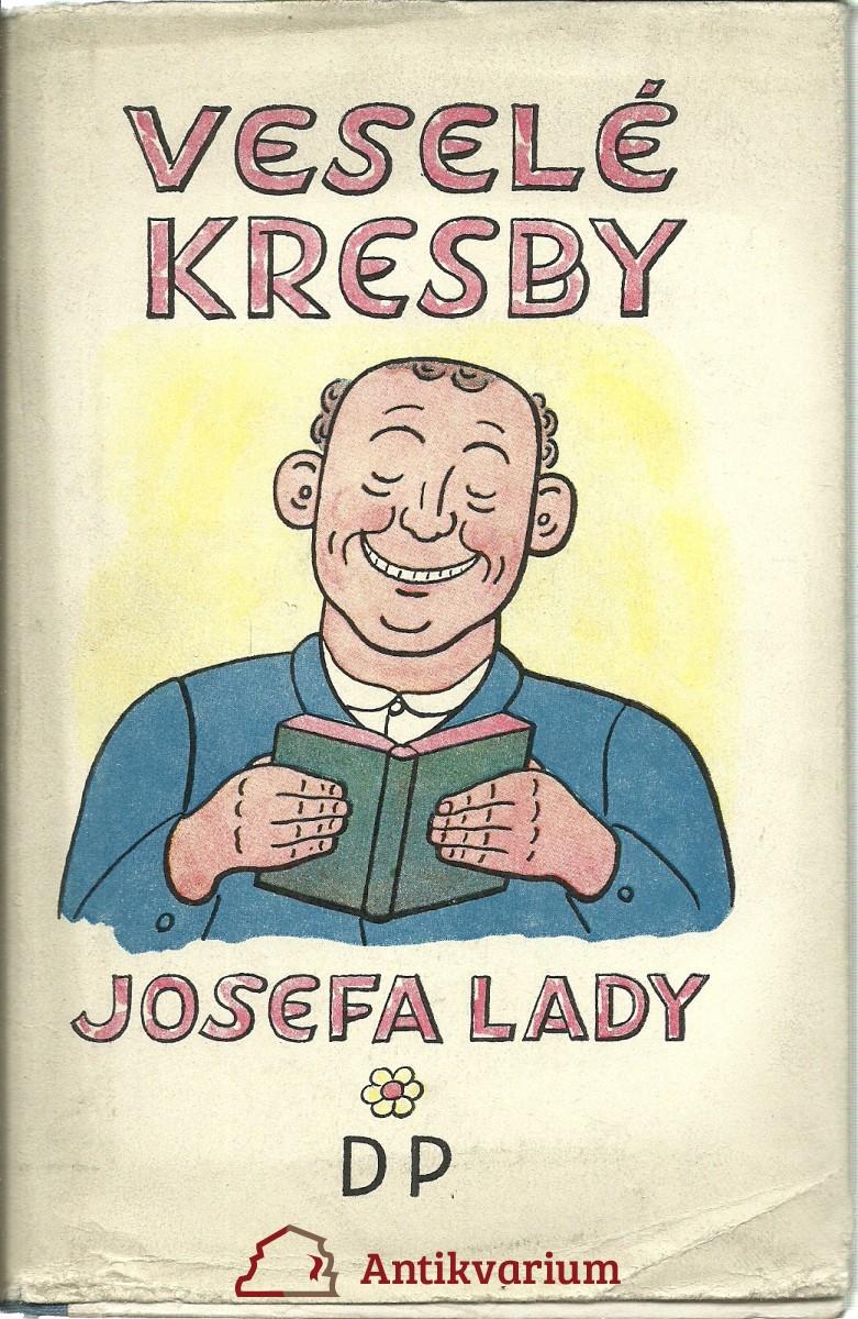 Lada Vesele Kresby Josefa Lady 1949 Antikvariat Praha