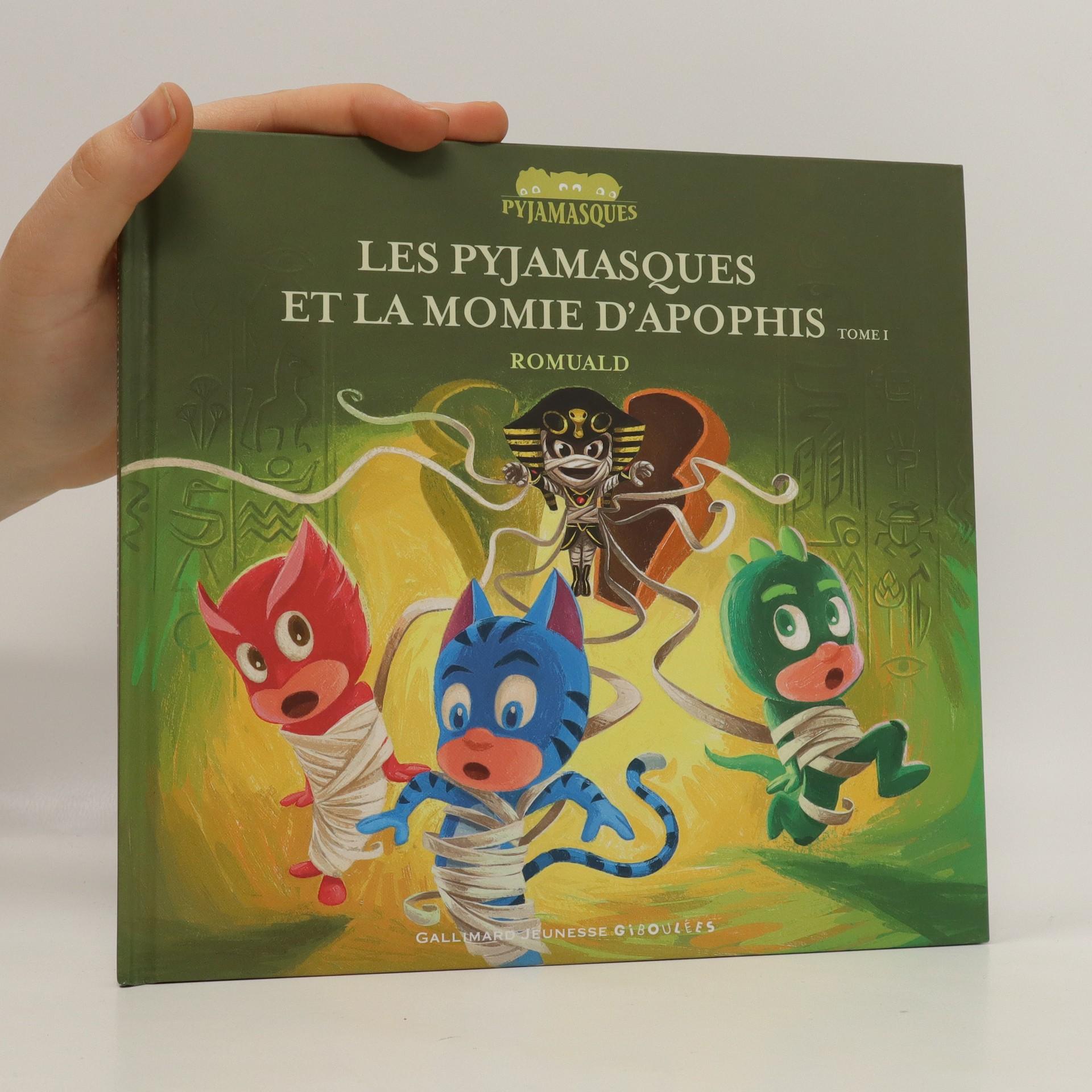 antikvární kniha Les pyjamasques et la momie d'apophis, 2018