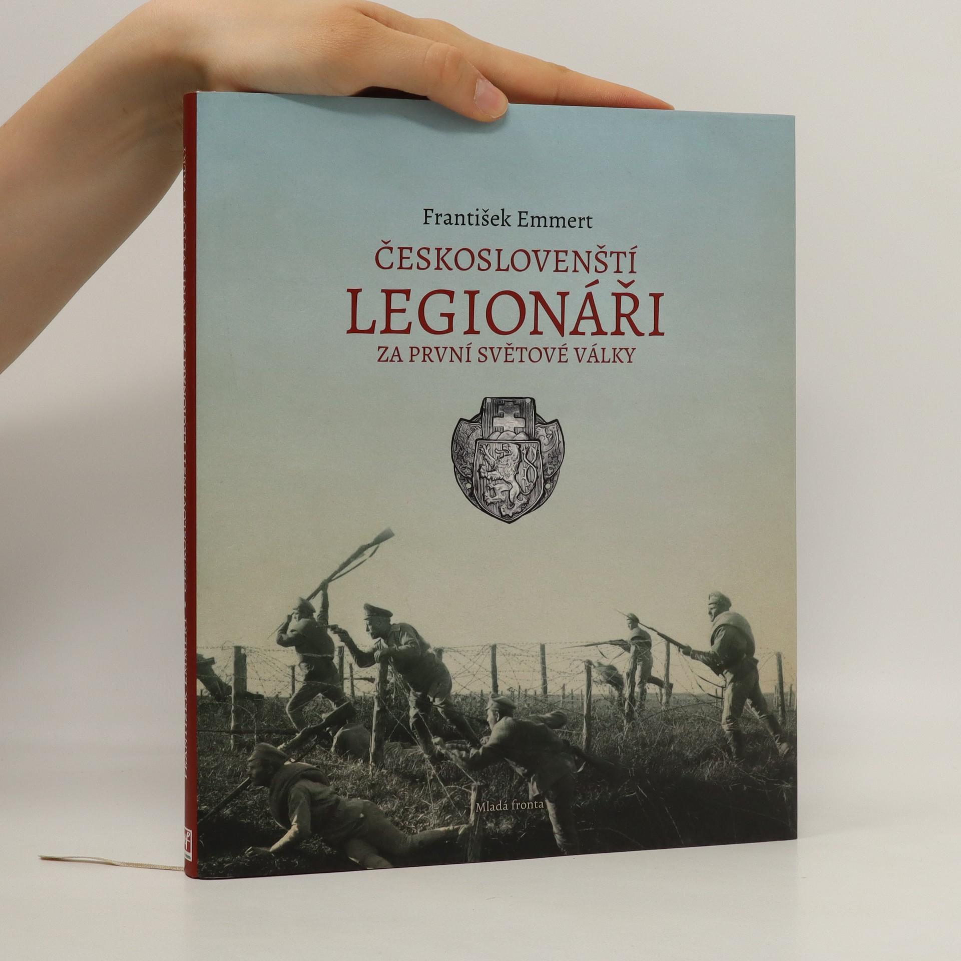 antikvární kniha Českoslovenští legionáři za první světové války, 2014