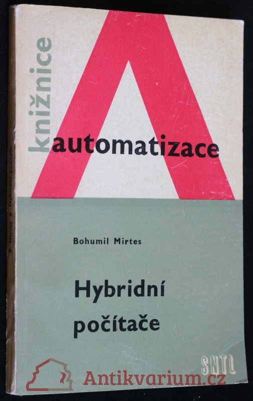 antikvární kniha Hybridní počítače, 1969