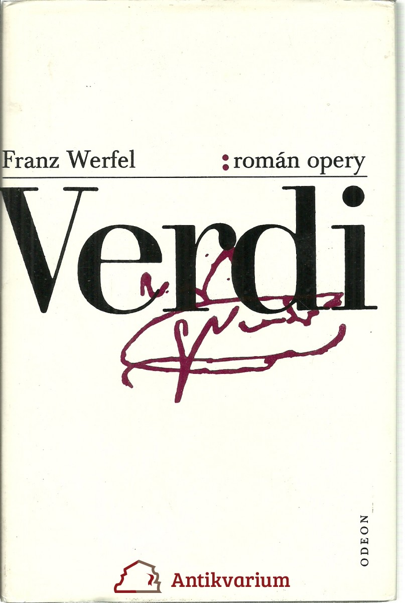 Verdi. Román opery