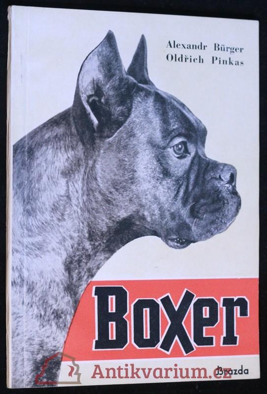 antikvární kniha Boxer, jeho chov a výcvik, 1950