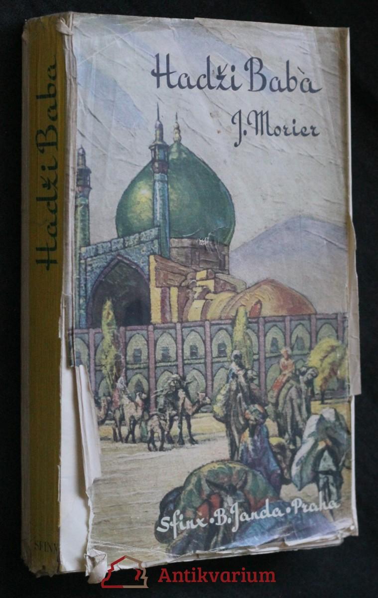 antikvární kniha Hadži Baba [z Ispahánu], 1941