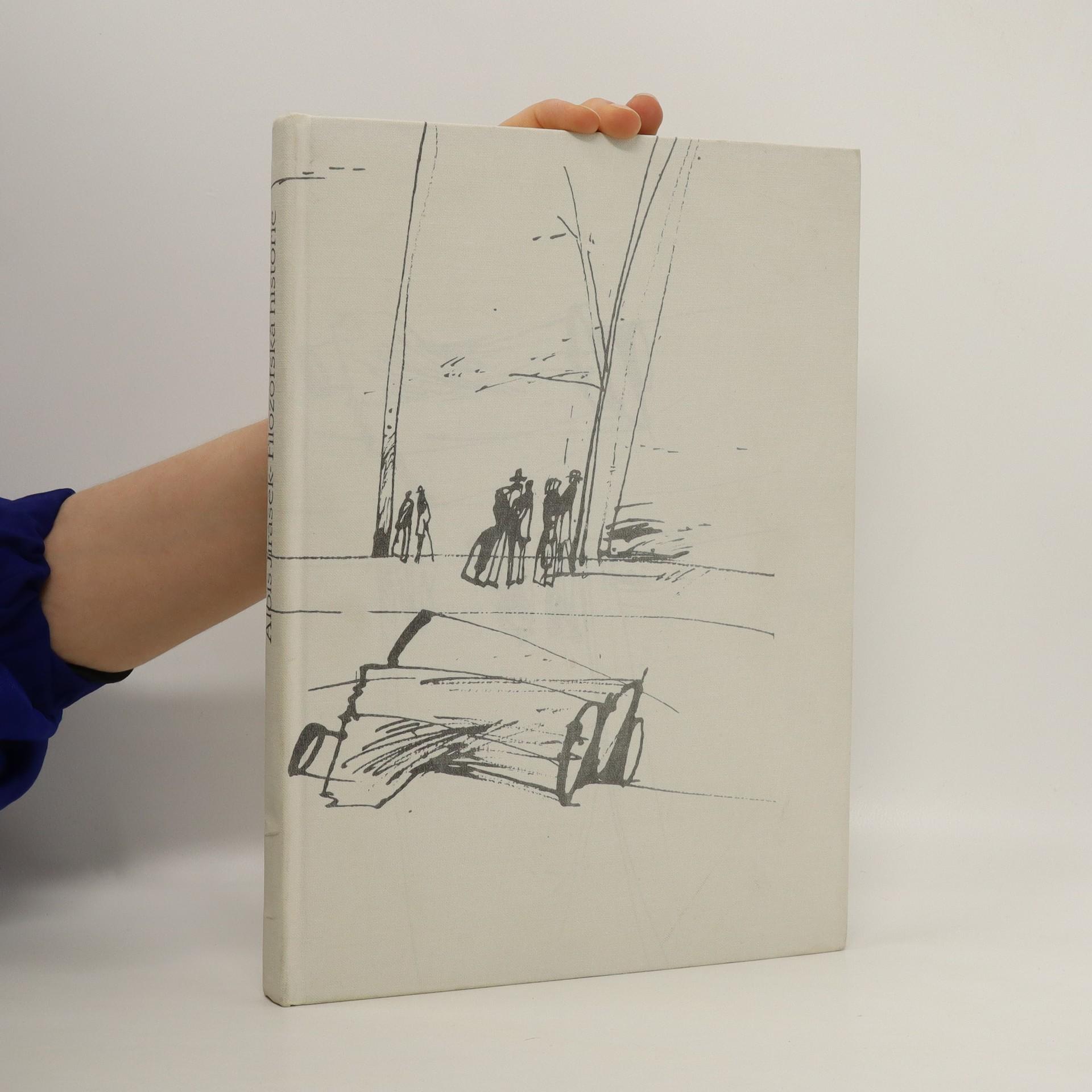antikvární kniha Filozofská historie, 1988