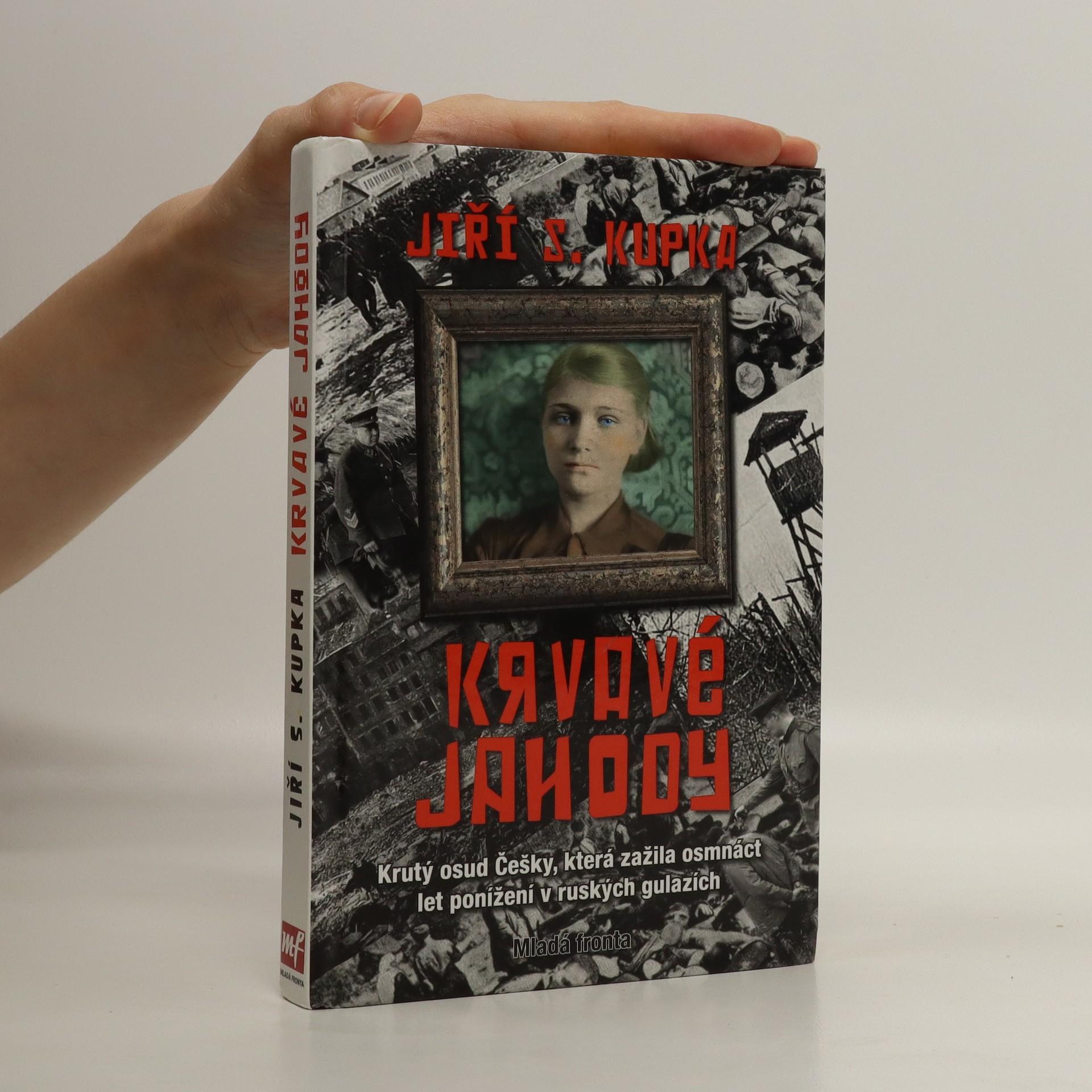 antikvární kniha Krvavé jahody, 2008
