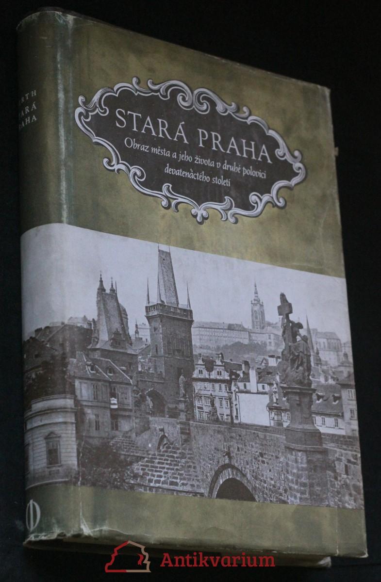 Stará Praha : obraz města a jeho veřejného života v 2. polovici XIX. století podle původních fotografií
