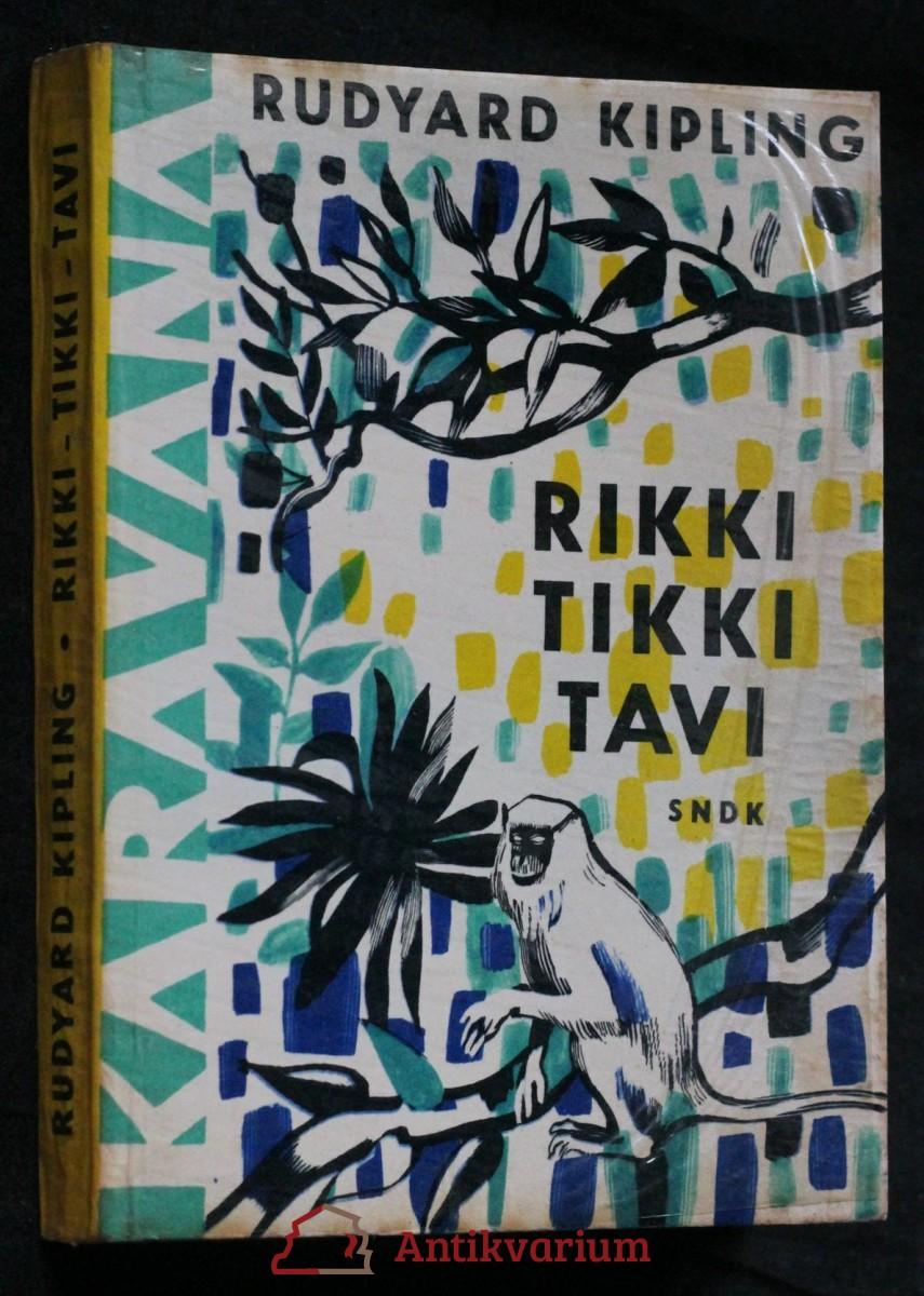 Rikki-tikki-tavi a jiné povídky o zvířatech