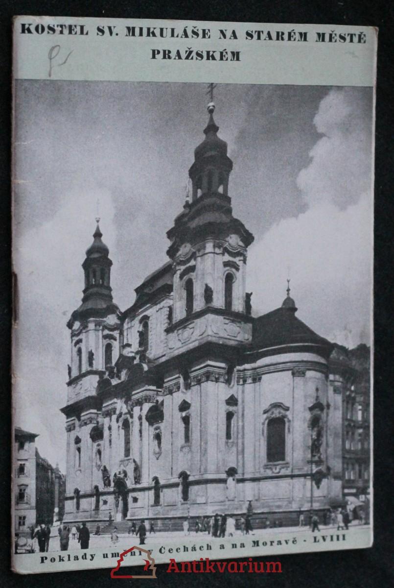 Klášter a kostel sv. Mikuláše na Starém městě Pražském
