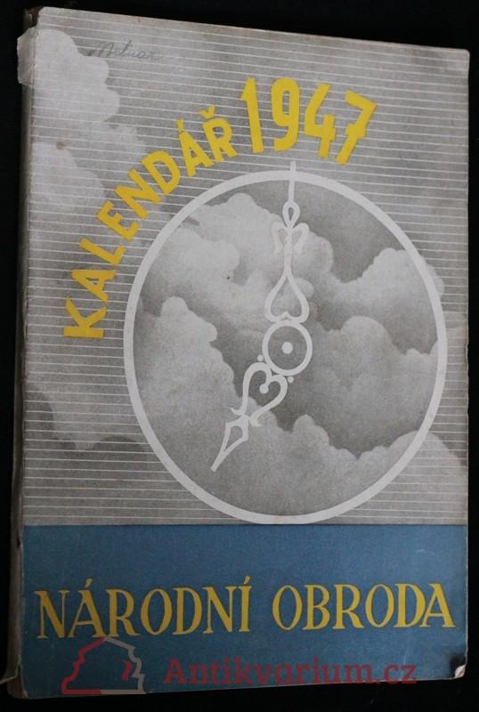 antikvární kniha Národní obroda : Kalendář moravského lidu na rok 1948, 1947