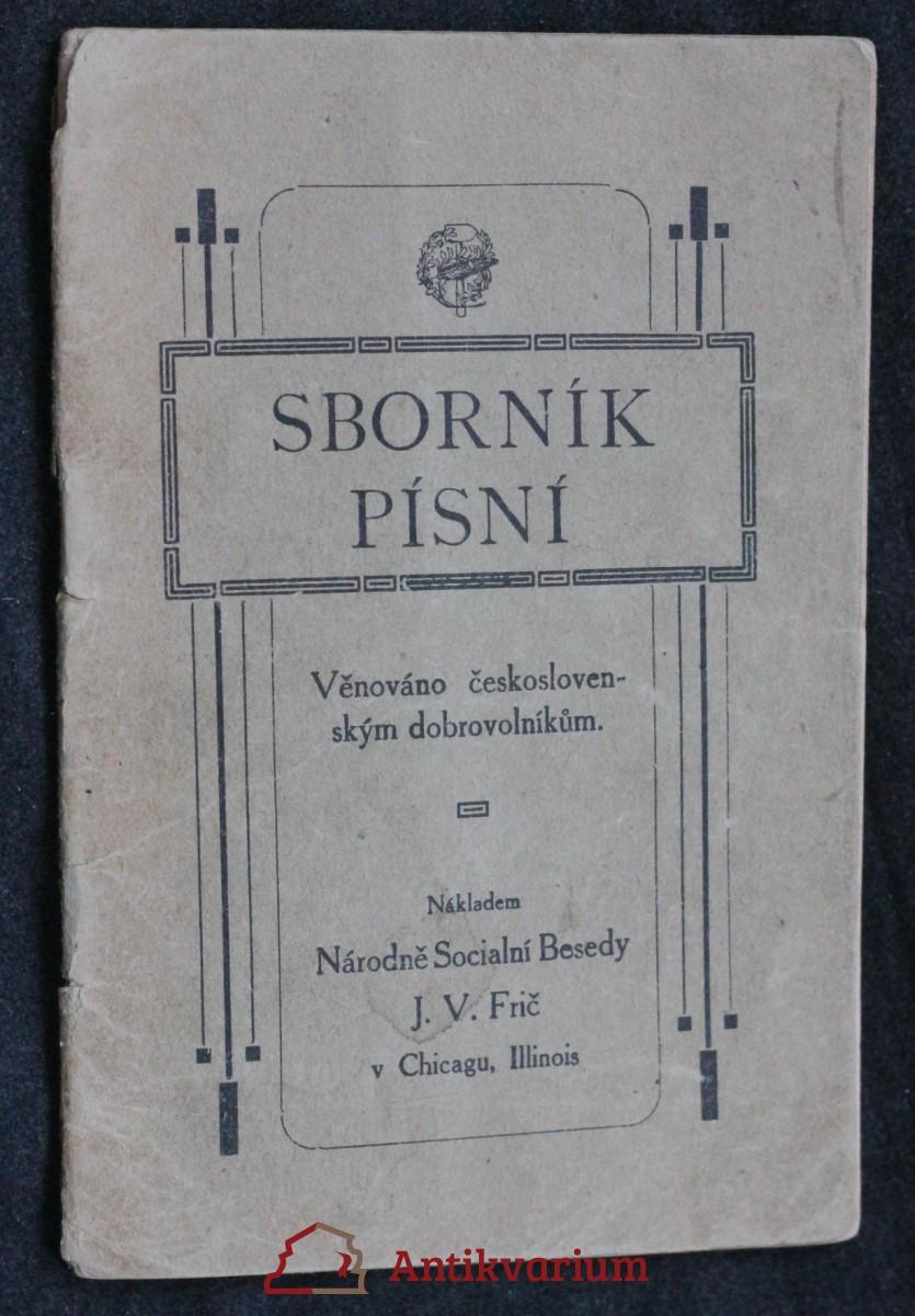antikvární kniha Sborník písní: Věnováno československým dobrovolníkům, neuveden