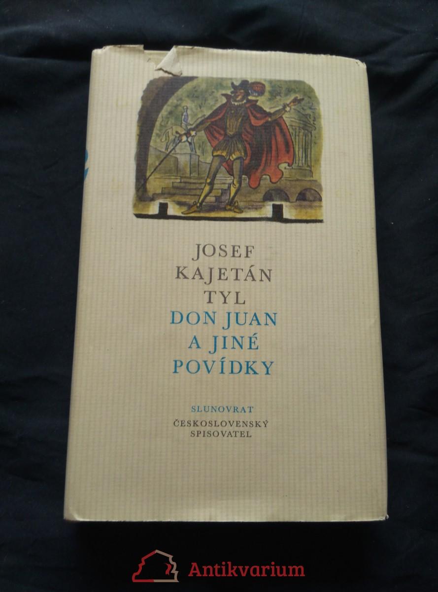 Don Juan a jiné povídky (Ocpl, 292 s., ob a il. C. Bouda)