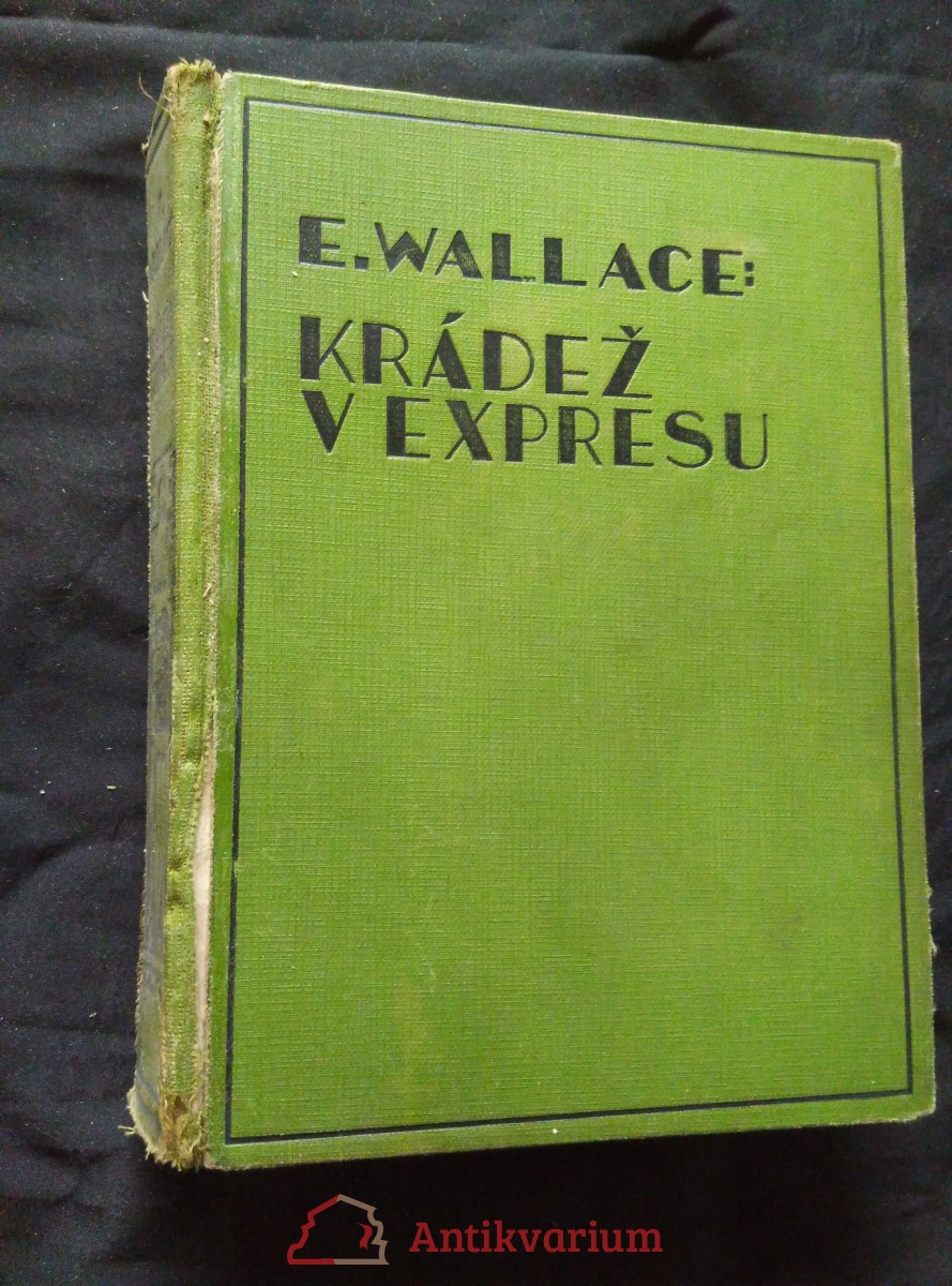 Krádež v expresu (Ocpl, 320 s.)