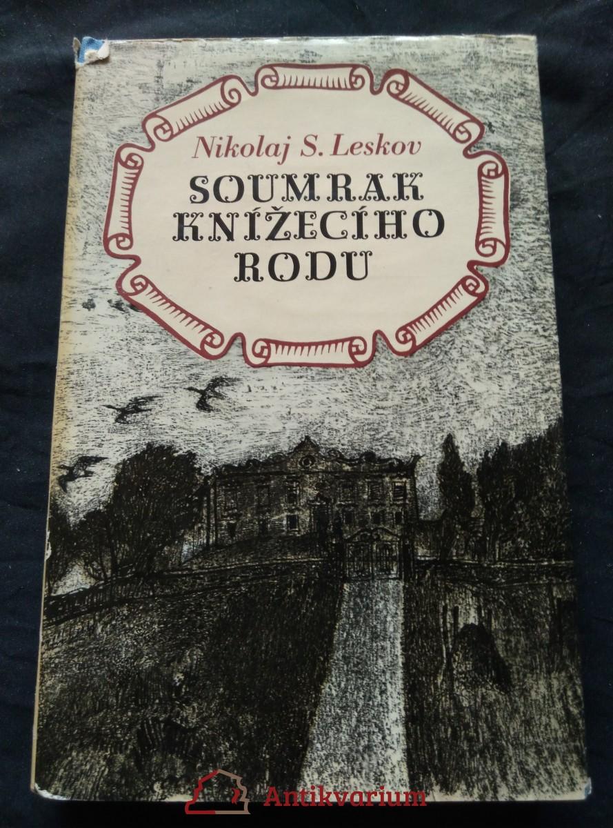 antikvární kniha Soumrak knížecího rodu, 1978