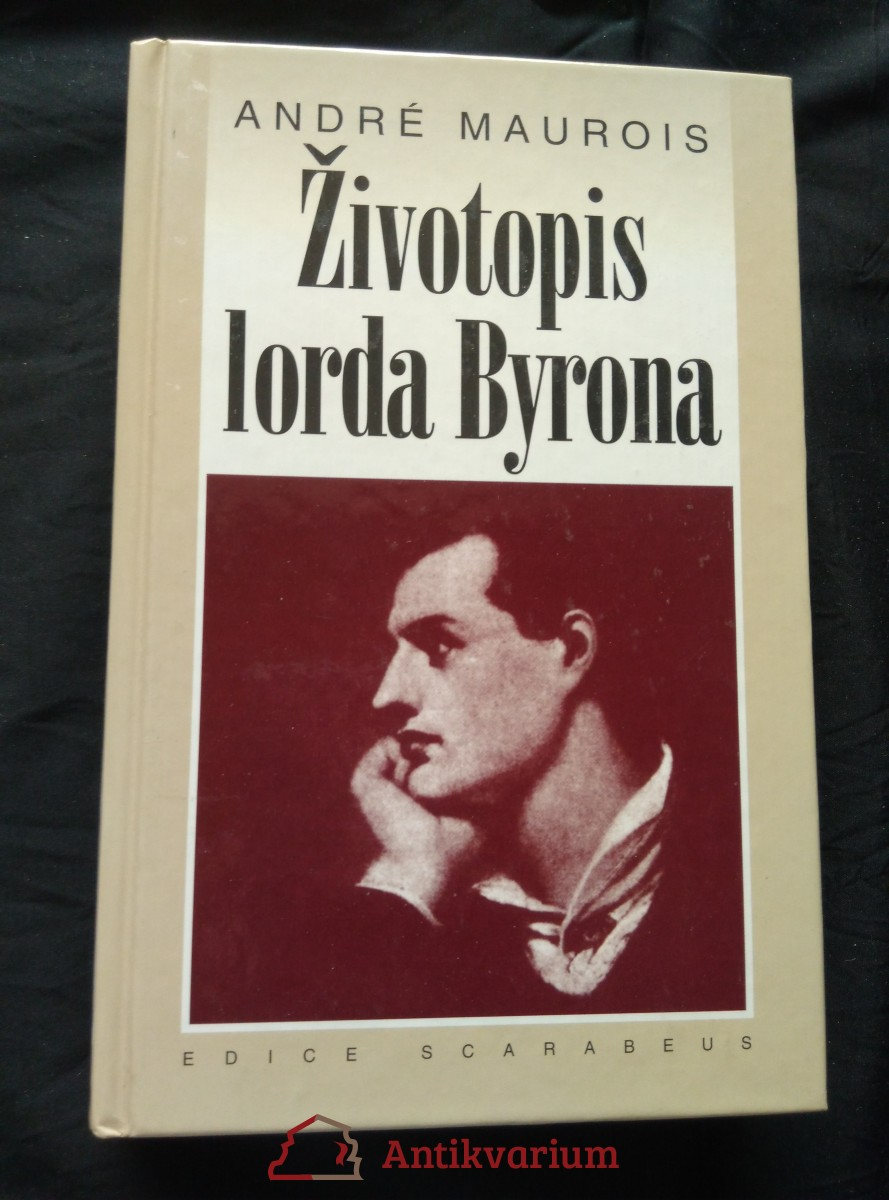 Životopis lorda Byrona (lam, 400 s.)