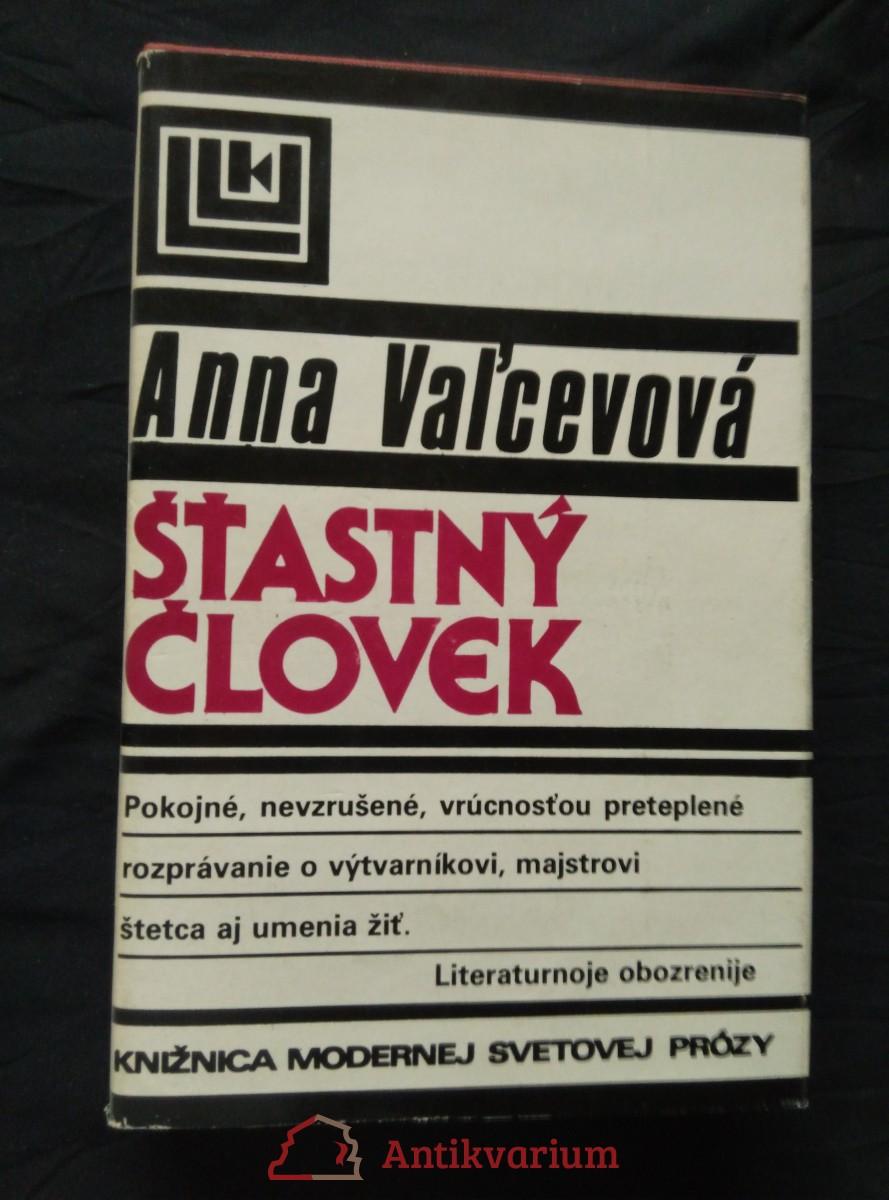 antikvární kniha Šťastný člověk, 1987