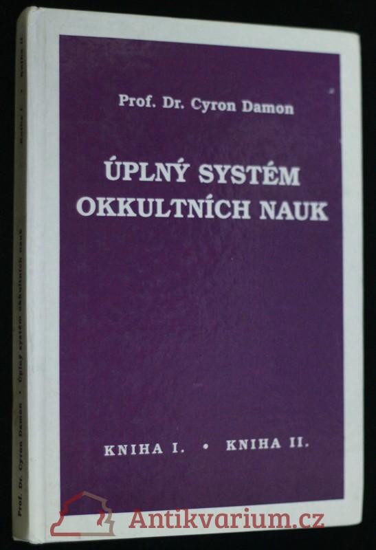 antikvární kniha Úplný systém okkultních nauk, neuveden