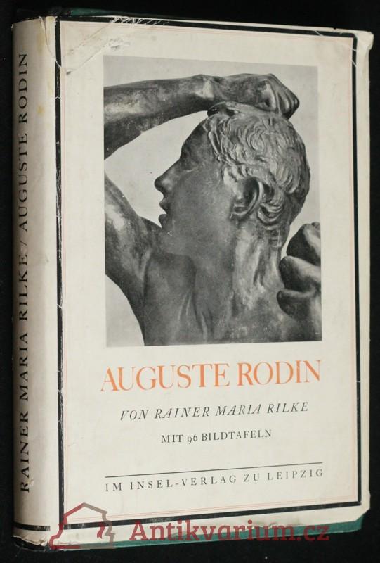 antikvární kniha Auguste Rodin, neuveden