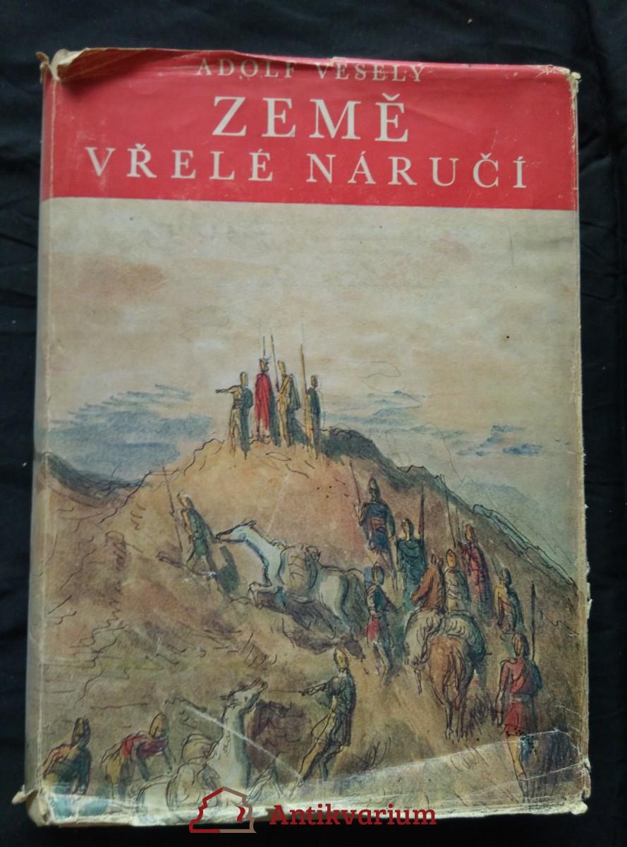 antikvární kniha Země vřelé náručí (A4, Oppl, 296 s., ob. K. Müller, il. Č. Duba), 1944
