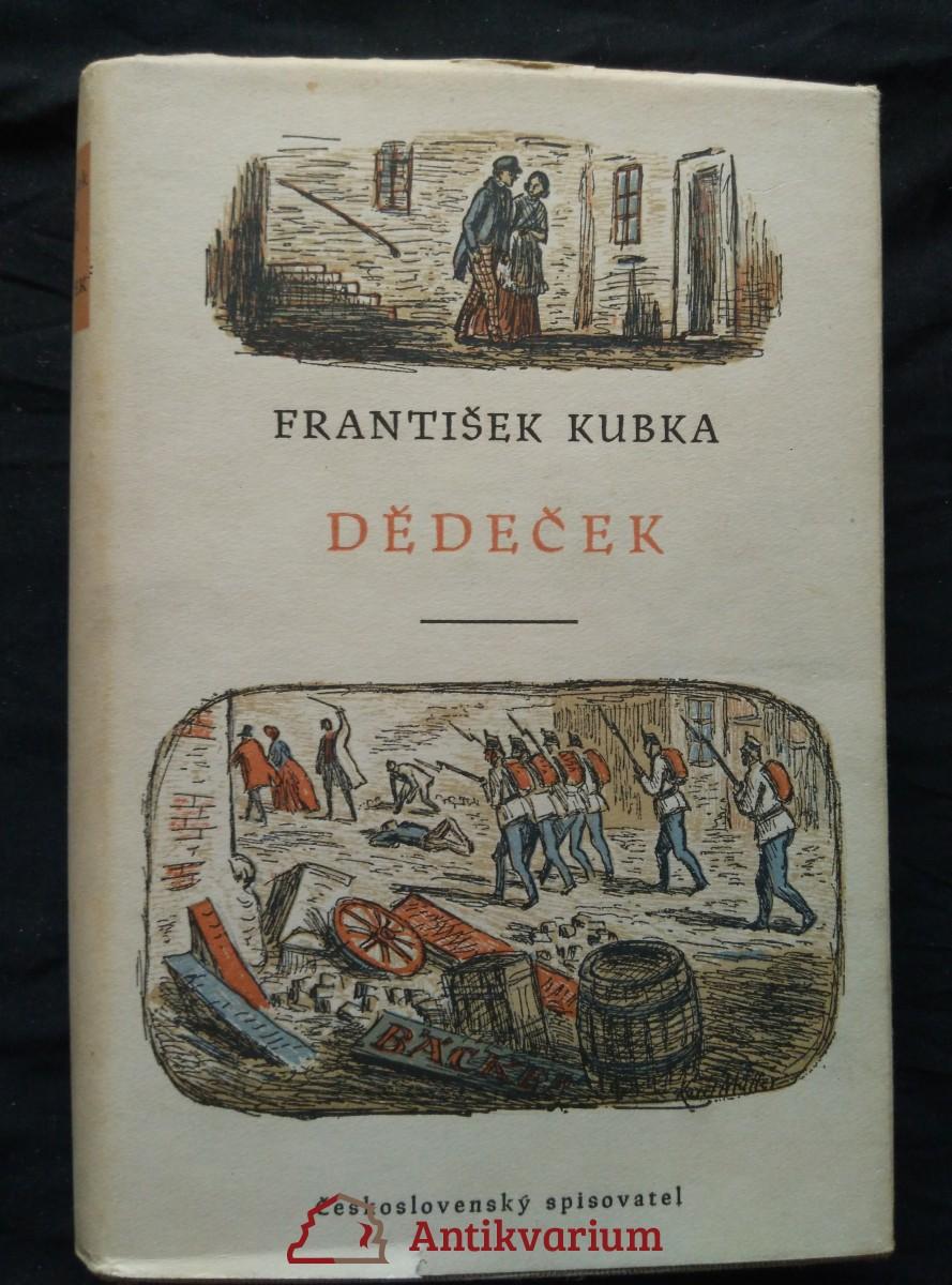 antikvární kniha Dědeček (Ocpl, 286 s., ob a il K. Müller), 1956