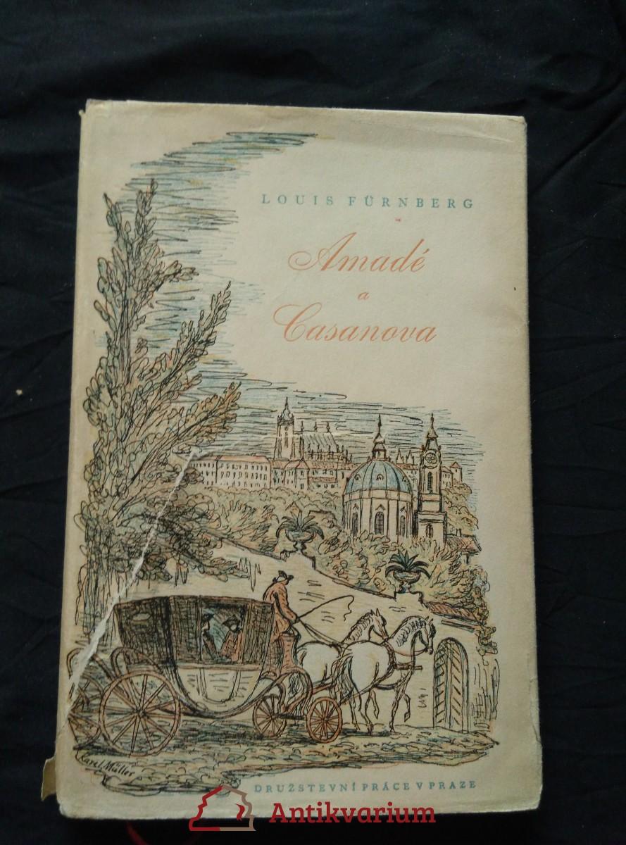 Amadé a Casanova (Oppl, 64 s., ob a 16 il. K. Müller, přel. P. Eisner)